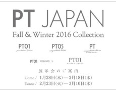 Fall&Winter 2016 Collection 展示会のご案内