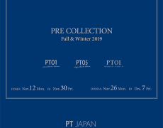 Fall&Winter 2019 Pre Collection 展示会のご案内